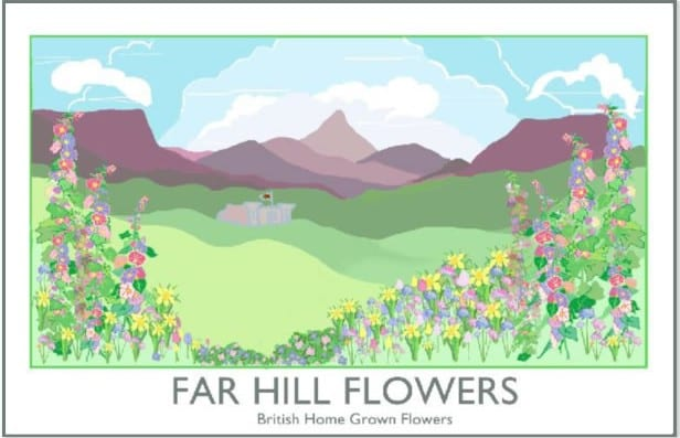 Far Hill Flowers Logo